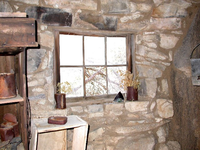 Someone carried this window in back then