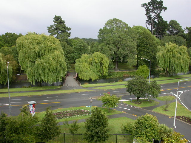 View of the Hagley Park