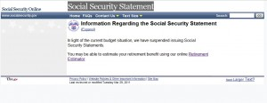 Social Security Website 31May2011
